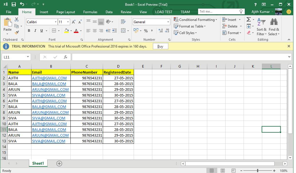 Multiple Excel Files Import to Database in MVC – Developer